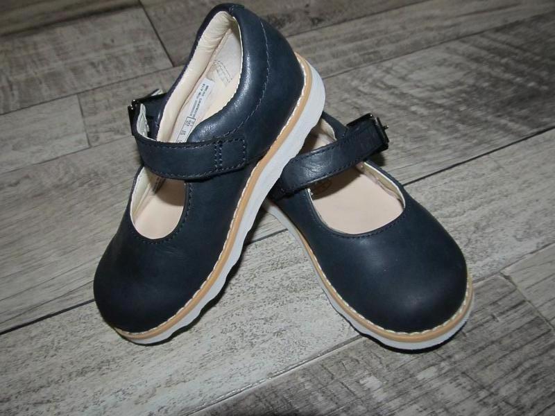 Туфли clarks 5е стелька 13 см