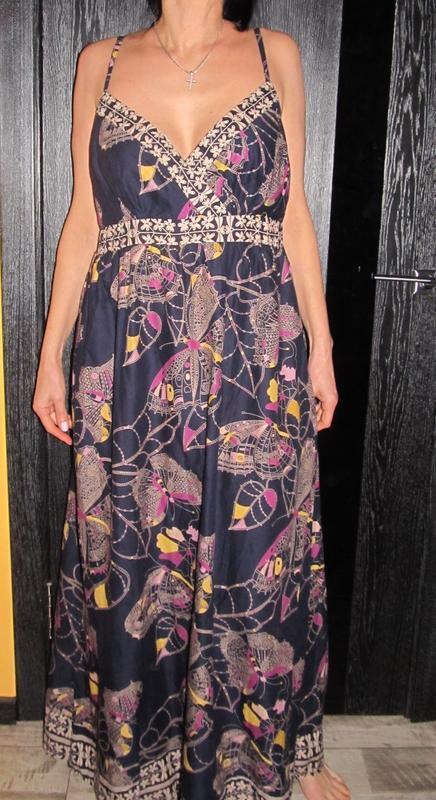 Платье сарафан от papaya р.18