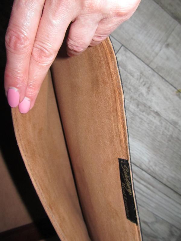 Кожаная папка для документов и бумаг 37х28см - Фото 5