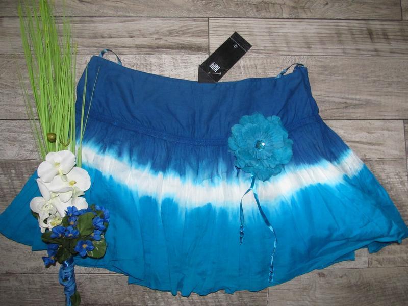 Пляжная мини юбка от bay р.12