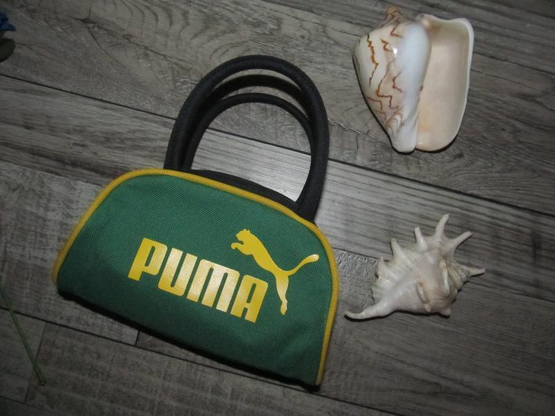 Оригинальная сумка косметичка  puma