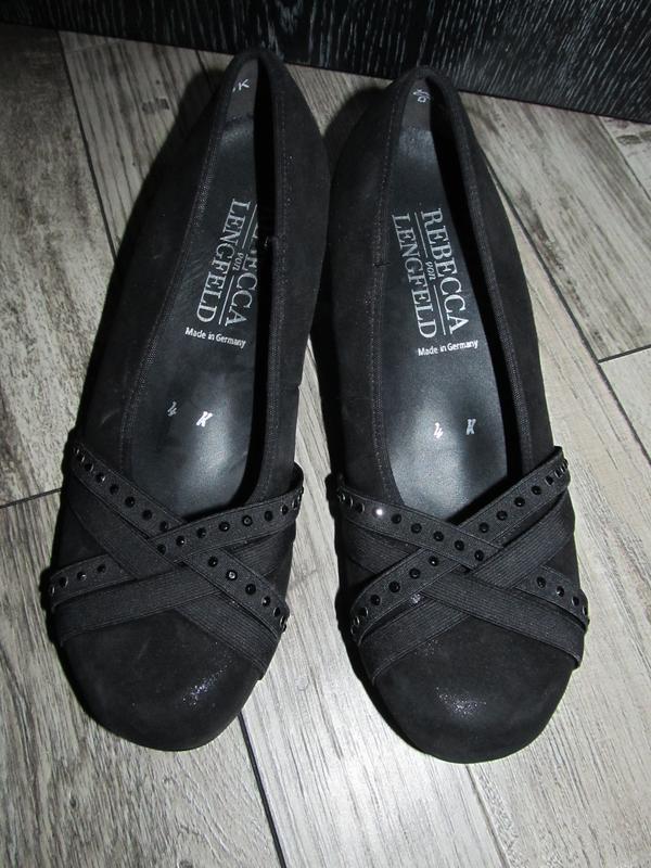 Кожаные туфли rebecca von lengfeld три размера р. 37, 39 и 42