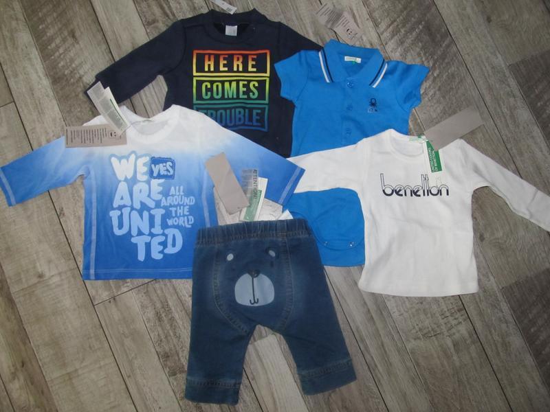Комплект одежды для малыша united colors of benetton 62см 3-6мес