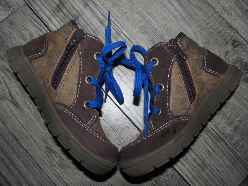 Кожаные деми ботинки indigo kids р. 25