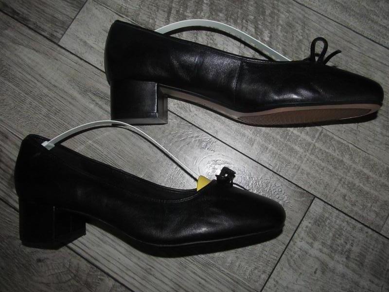 Классические туфли clarks р. 42 е - 27см