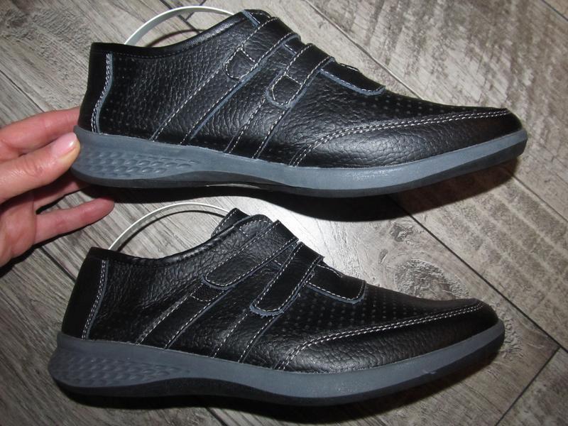 Кожаные туфли  cushion-walk р. 40 -26см