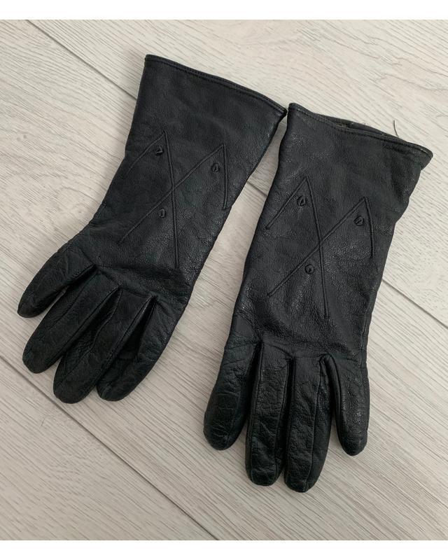 Рукавиці, перчатки жіночі чорні.
