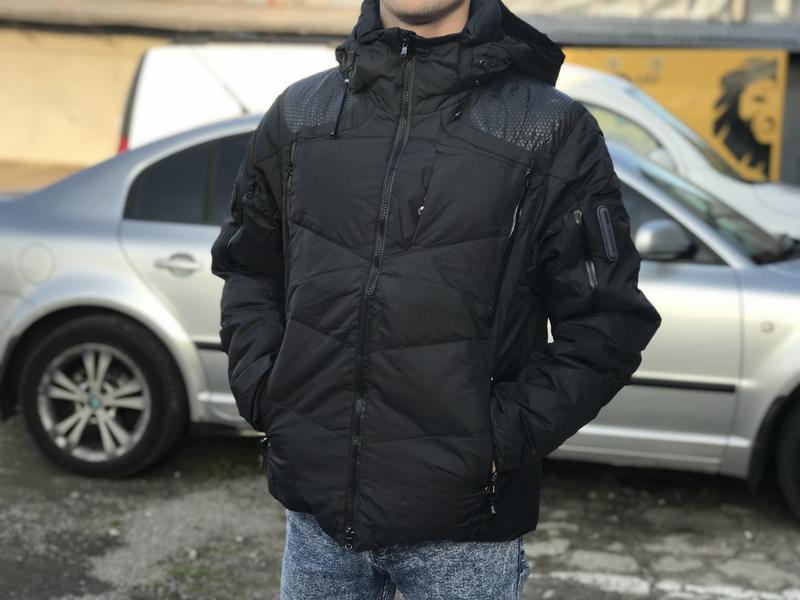 Зимова куртка пуховик