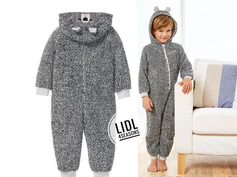 Махровый кигуруми, слип, пижама 86-92 lupilu германия, комбинезон