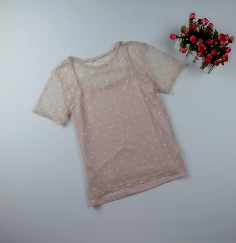 Блузка на 4-6 лет