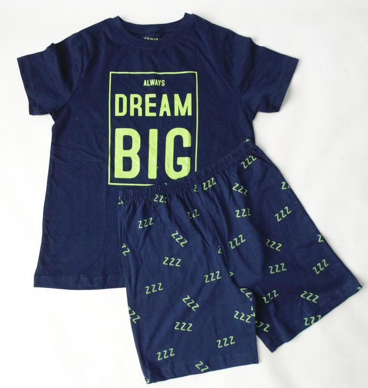 Пижама футболка шорты primark 9-10 лет 140 см