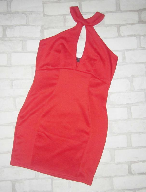 Обворожительное платье морковного цвета