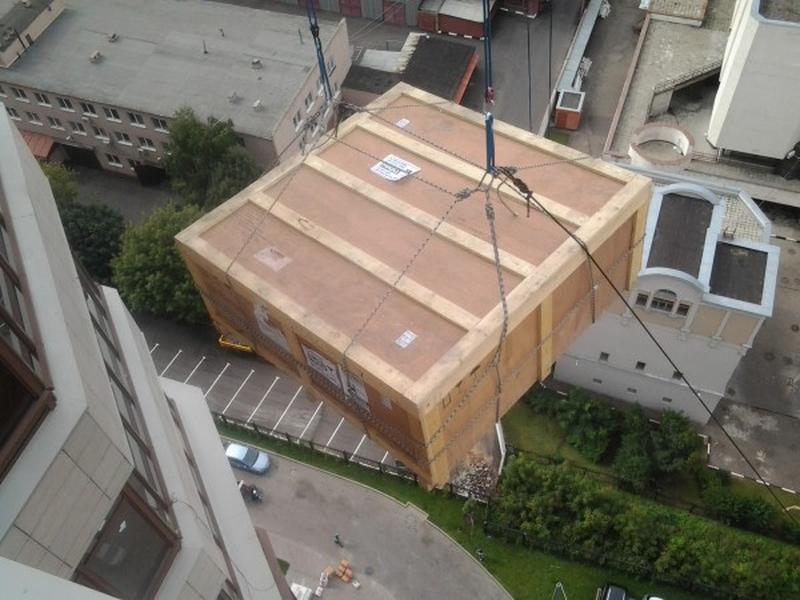 Подъём негабаритных грузов