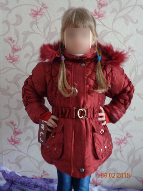 Распродажа зимние курточки на рост 110-140.