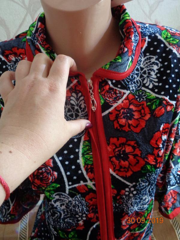 Халаты женские разные расцветки. раз 52-60