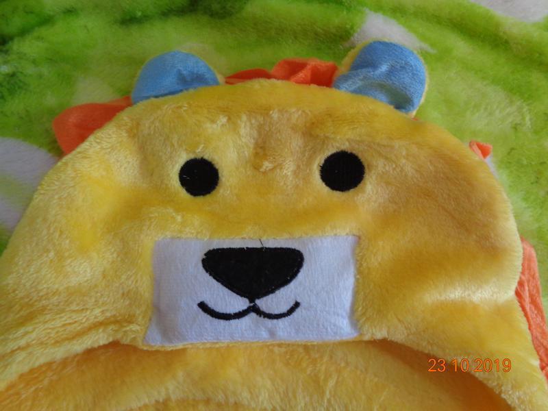 Супер нежные полотенца с капюшоном для малышей