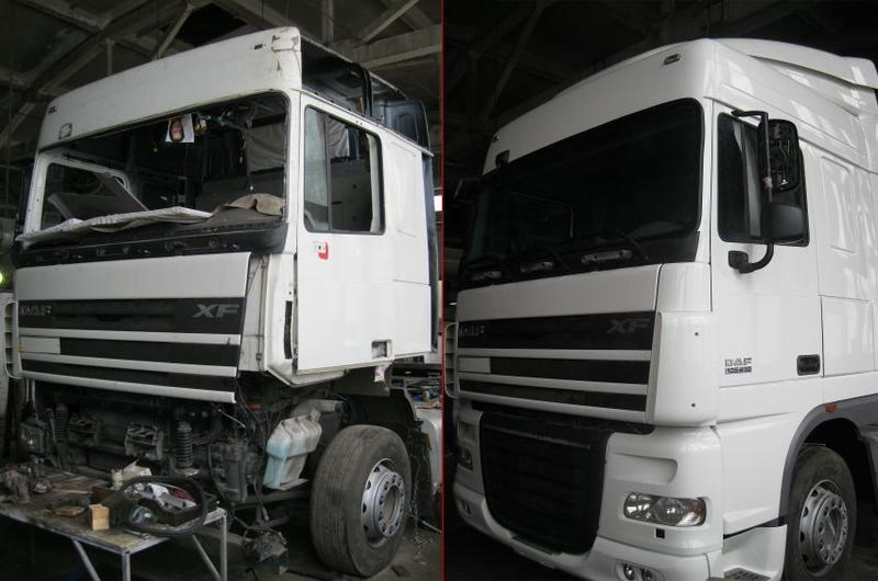 Ремонт грузовых автомобилей Мерседес (MERSEDES)