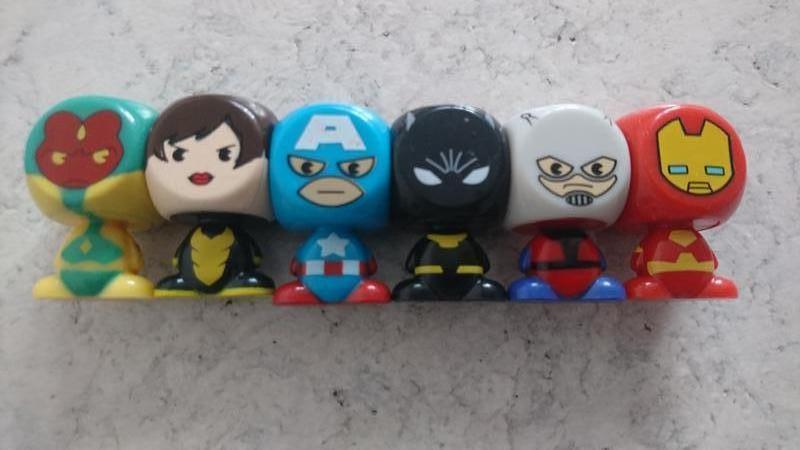 Коллекция героев marvel