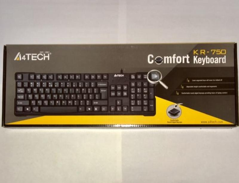 USB клавиатура A4Tech Comfort Keyboard