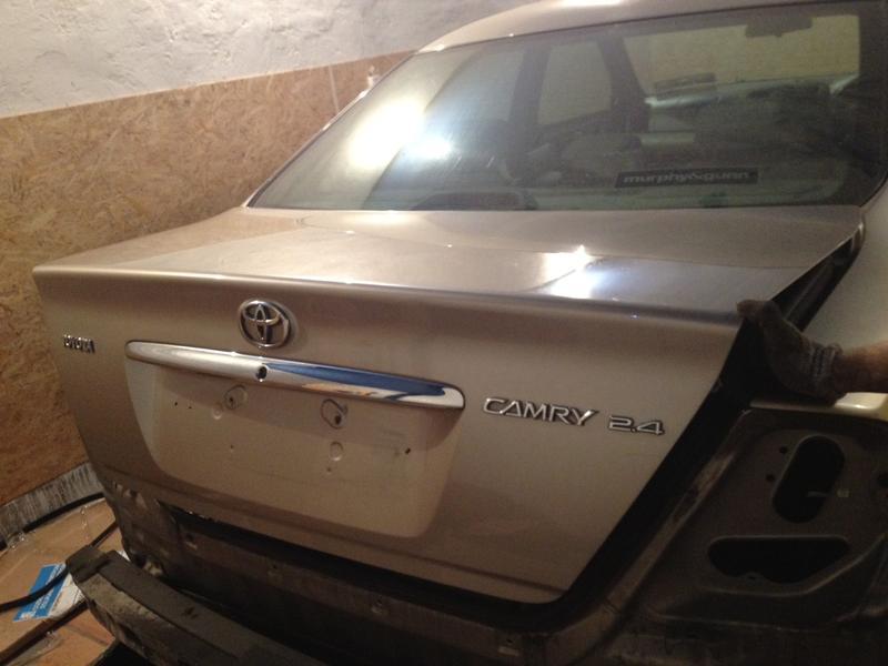 Б/у Крышка багажника Toyota Camry 30