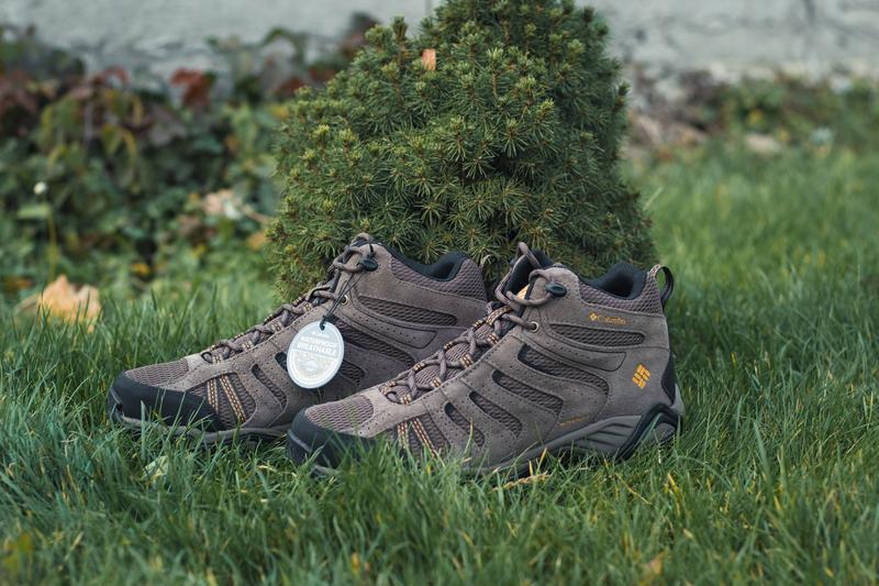 Кожаные ботинки columbia plains ii waterproof mid(оригинал)!