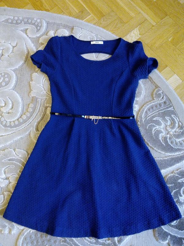 Красивое синее платье р.s/m 100 грн