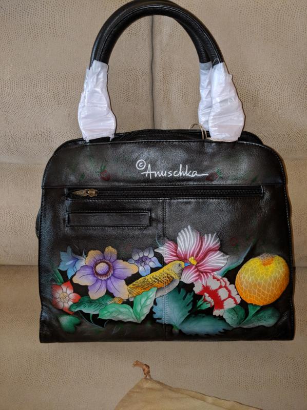 Женская винтажная сумка anuschka