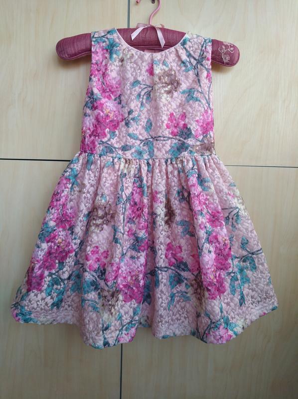 Нарядное платье matalan на 7 лет