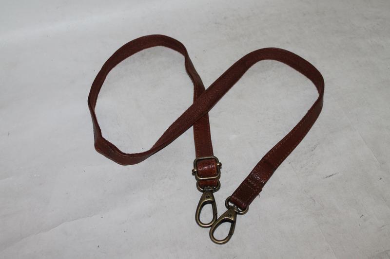 Кожаный плечевой ремень.длинная ручка на сумку 100% натуральна...