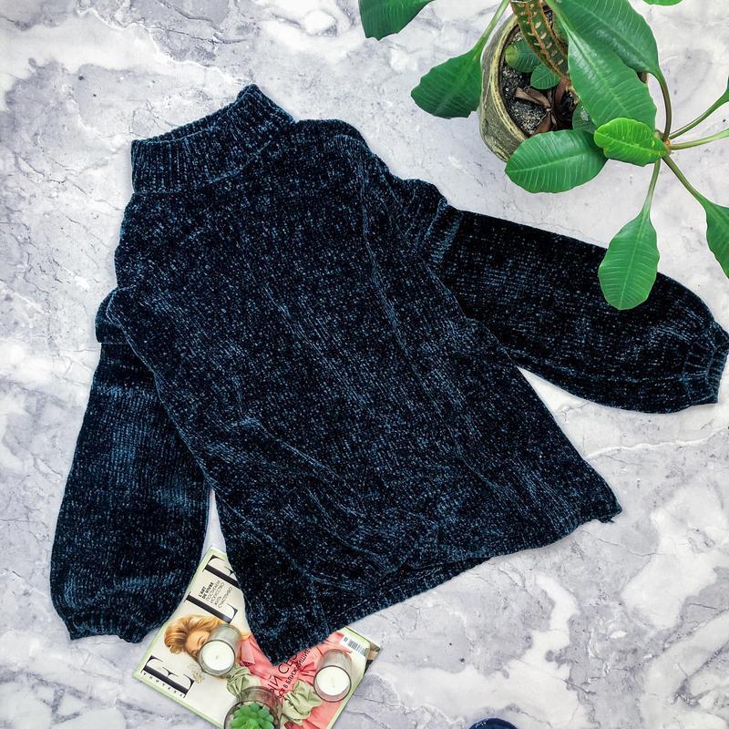 Шикарный плюшевый свитер uk22