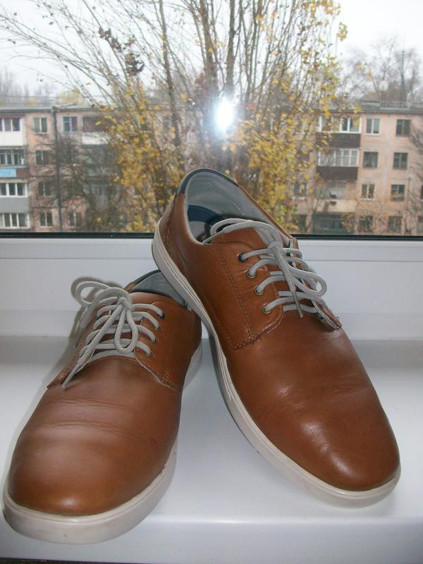 Туфли мужские натуральная кожа clarks р.46