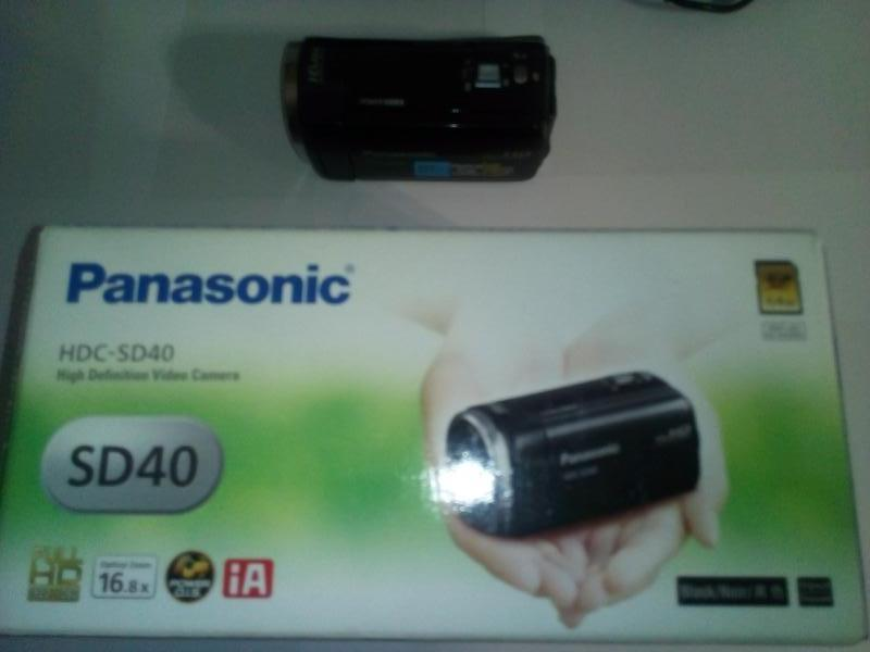 Видеокамера Panasonic HDC-SD40 Black