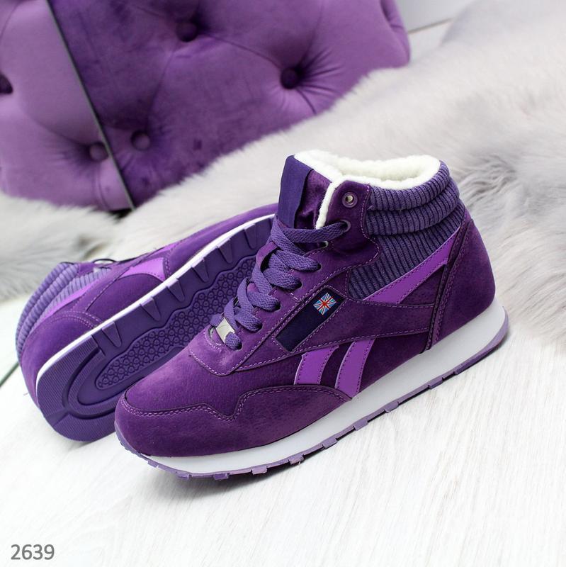 Новиночка фиолетовые кроссы