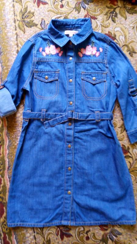 Платье джинсовое bluezoo