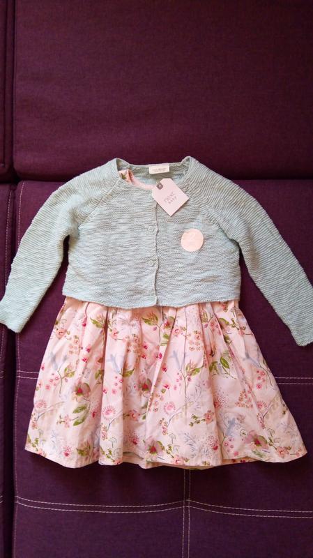 Комплект платье кофта next