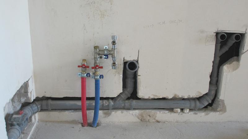 Монтаж/замена канализации и водопровода