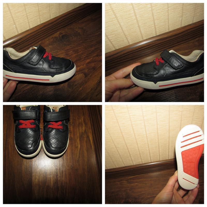 Clarks air кросівки 15.8 см устілка