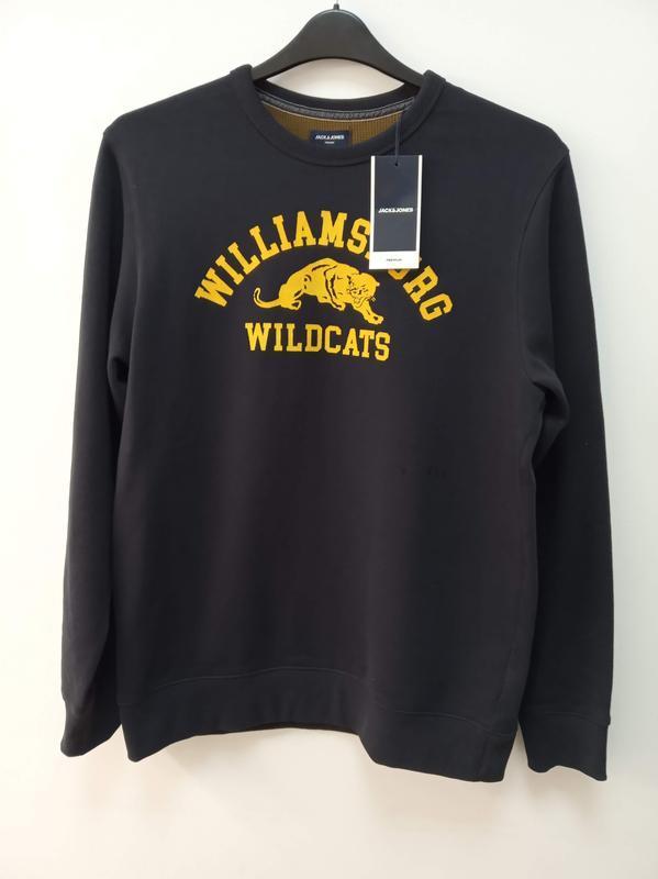 Теплый мужской свитер 100% хлопок