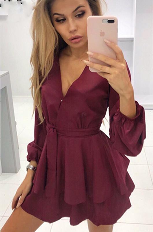 ⛔✅ платье-шорты воланы -ромпер комбинезон