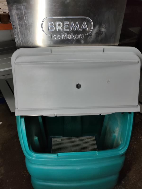 Льодогенератор brema g 250a б/у льдогенератор чешуйчатый