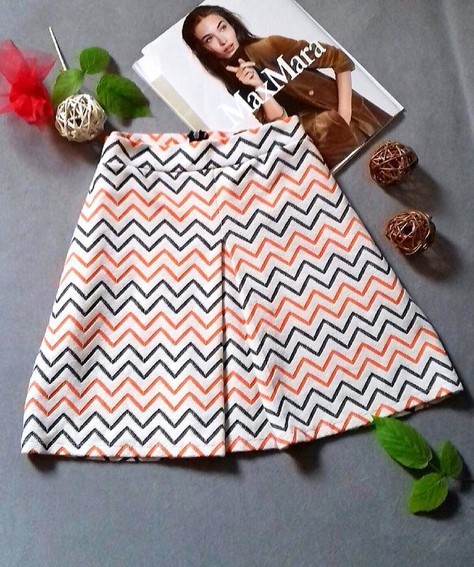 Роскошная юбка в модный принт