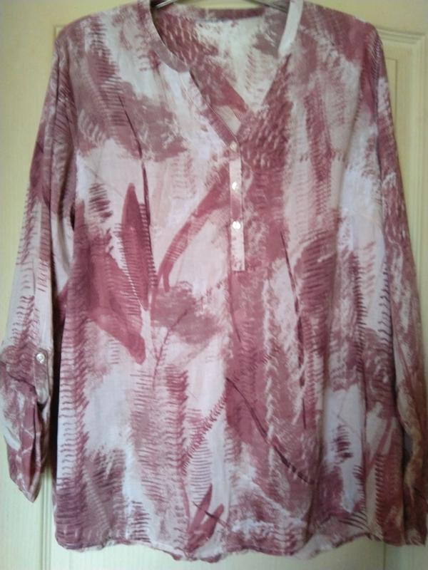 Актуальная блуза оригинального принта