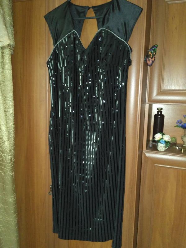 Красивое платье и болеро нарядное большого размера