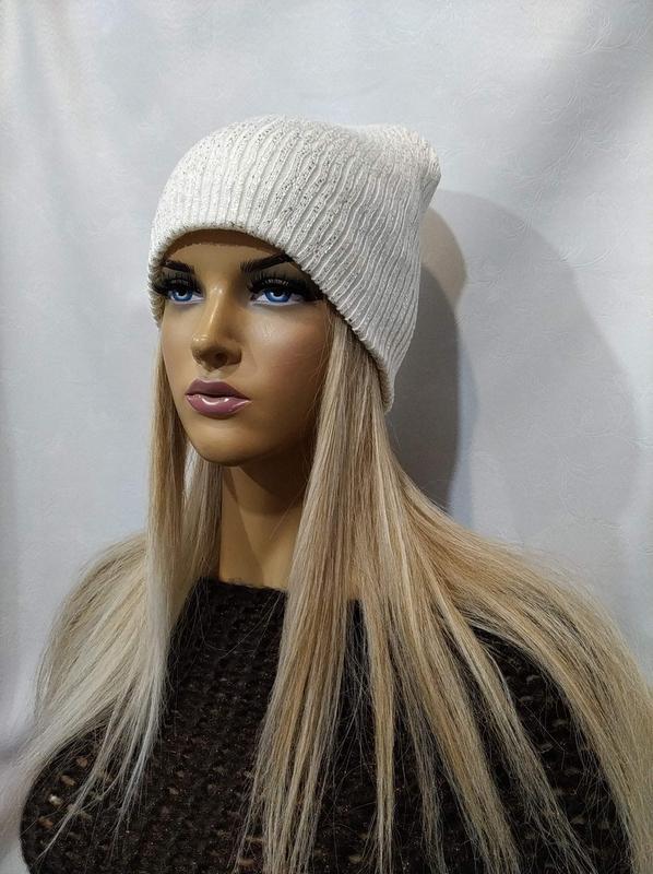 відмінна якість останній найкращі ціни Шапка-чулок шапка женская flirt ренза молоко 1201 на IZI.ua (1500487)