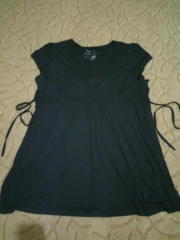 Хлопковая туника love fashion evans большой размер 26-28