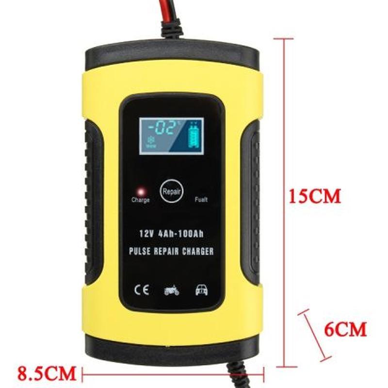 Импульсное зарядное устройство для автомобильного аккумулятора - Фото 2
