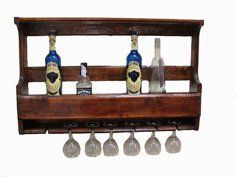 Изготовление полок для бутылок, винных стоек