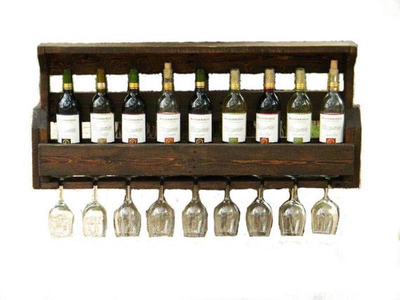 Изготовление полок для бутылок, винных стоек - Фото 2