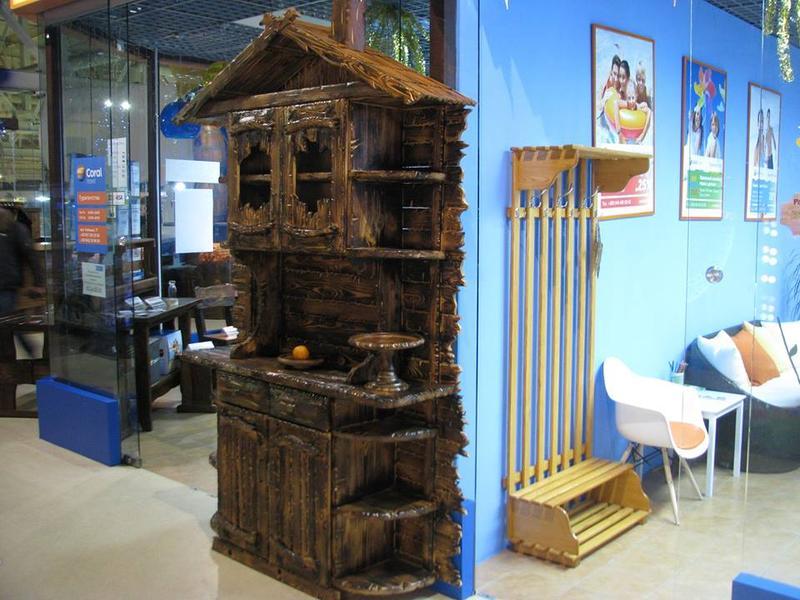 Изготовление вешалок напольных деревянных