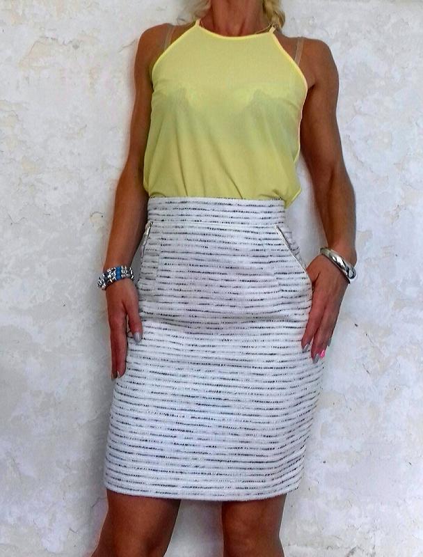 Шикарная красивая миди юбка h&m